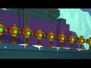 I'm not seeing enough futurama here! [20 seconds]