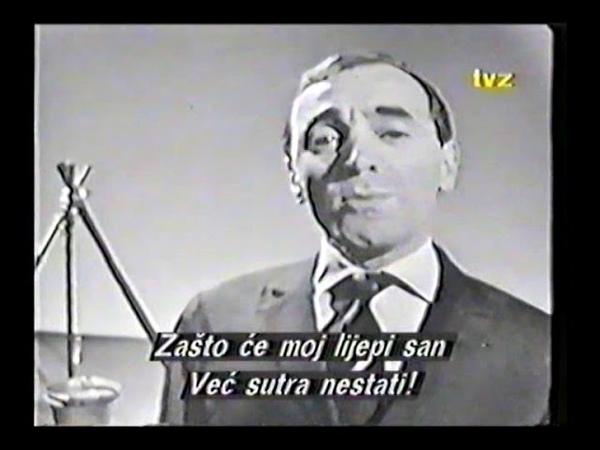 CHARLES AZNAVOUR - Spiel Zigeuner, Pour faire une jam (live)