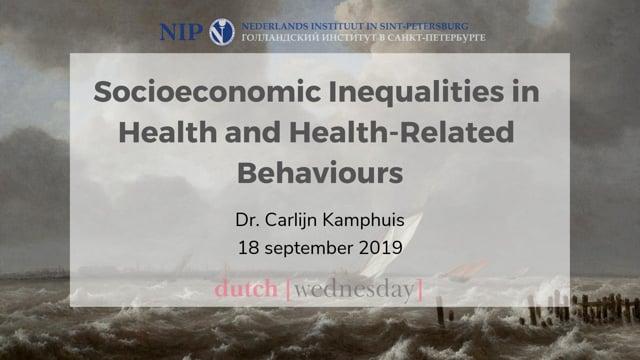 Socioeconomic inequalities in health and health-related behaviours