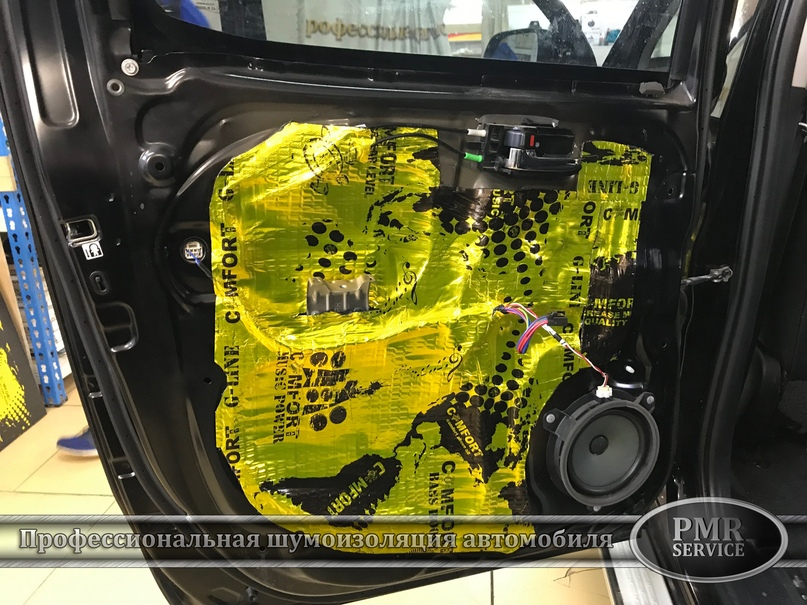 Шумоизоляция Toyota Hilux, изображение №8