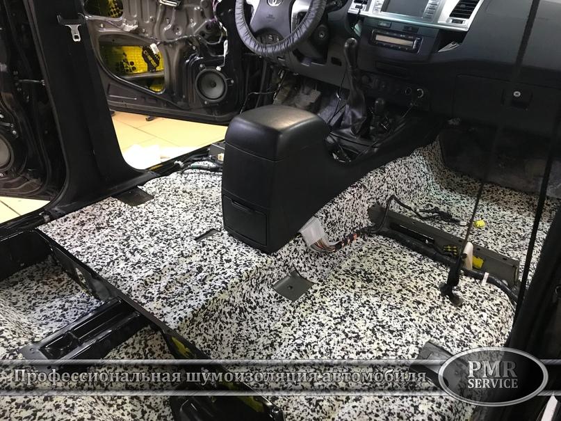 Шумоизоляция Toyota Hilux, изображение №13