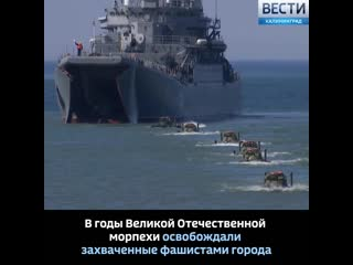 27 ноября День морской пехоты ВМФ России