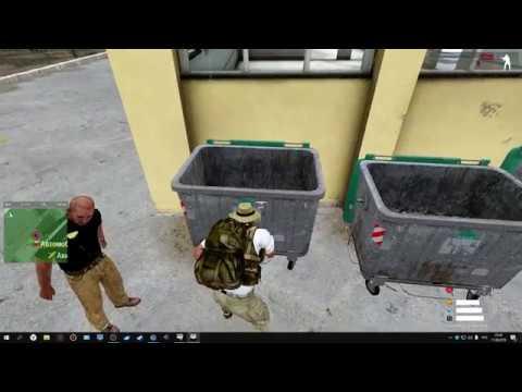 Arma 3 Xabar Altis Life-встреча с полицией и роемся в бачках мусорных