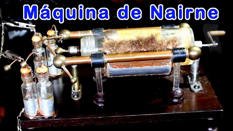Máquina de Nairne Máquina electrostática de Nairne Máquina de electricidad de Nairneestática