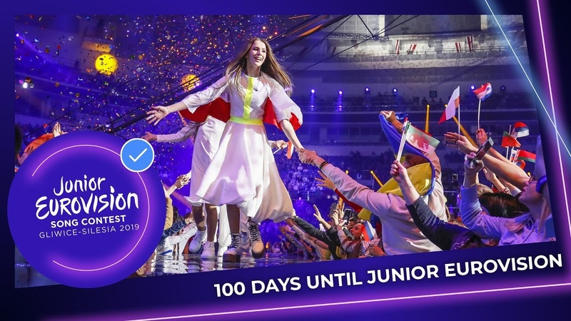 100 Days left until the Junior Eurovision Song Contest 2019