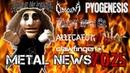 CRADLE OF FILTH CLAWFINGER NILE PYOGENESIS METAL NEWS 025 Новости метал музыки Октябрь'19
