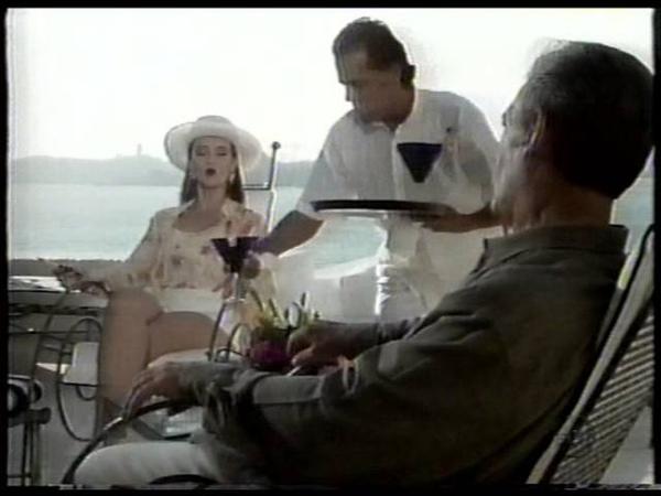 Chamada de capítulo da novela A Usurpadora (SBT, 1999)