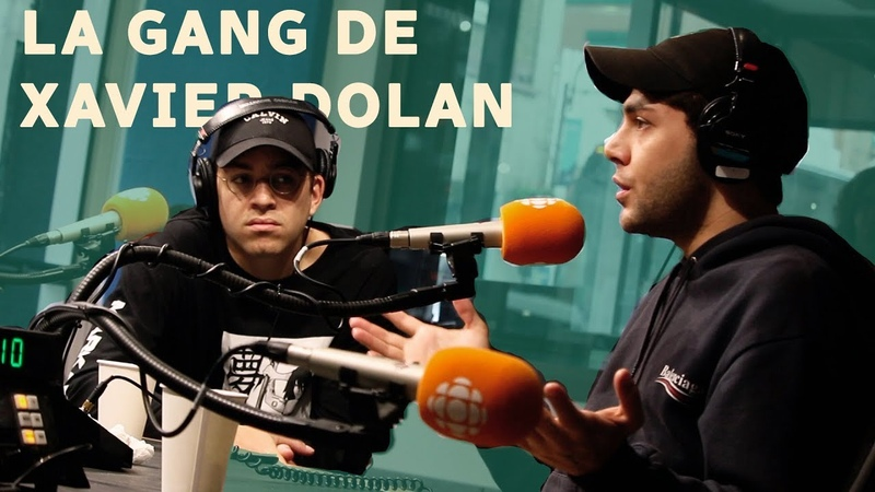 Xavier Dolan et Antoine Pilon en studio