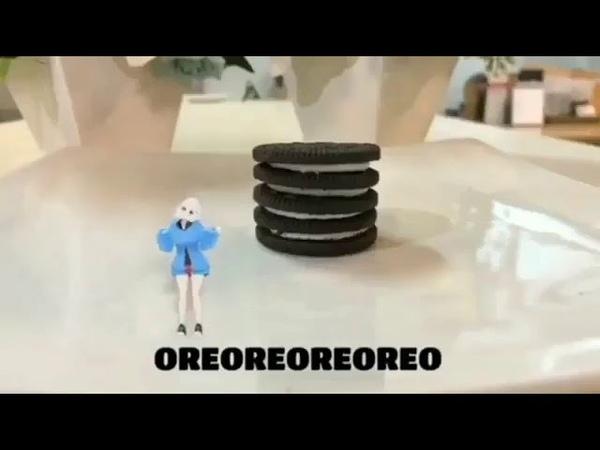 Oreo meme anime girl Version