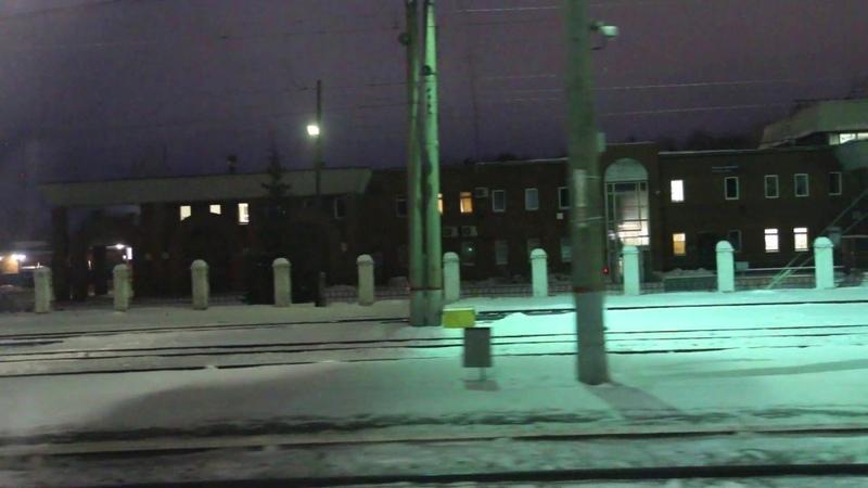 Отправление со станции Невьянск
