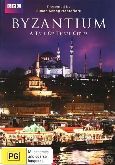 Византия: Сказания о трёх городах Историк Симон Монтефиоре Сибэг прослеживает историю Стамбула. Известное как город в мире желания, это место находится в центре внимания верующих трех