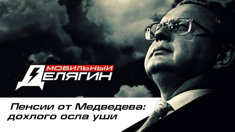 Пенсии от Медведева дохлого осла уши