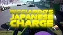 Daniel Ricciardos Charge Through The Field 2019 Japanese Grand Prix