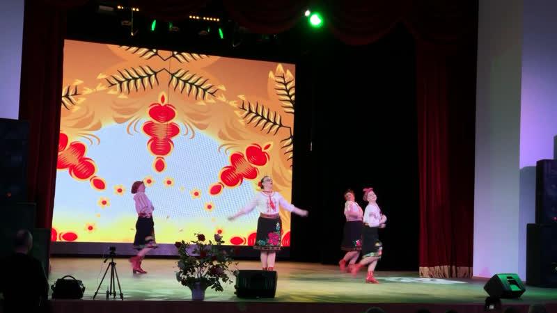 Народный самодеятельный коллектив ансамбль танца Мозаика танец Сплетницы
