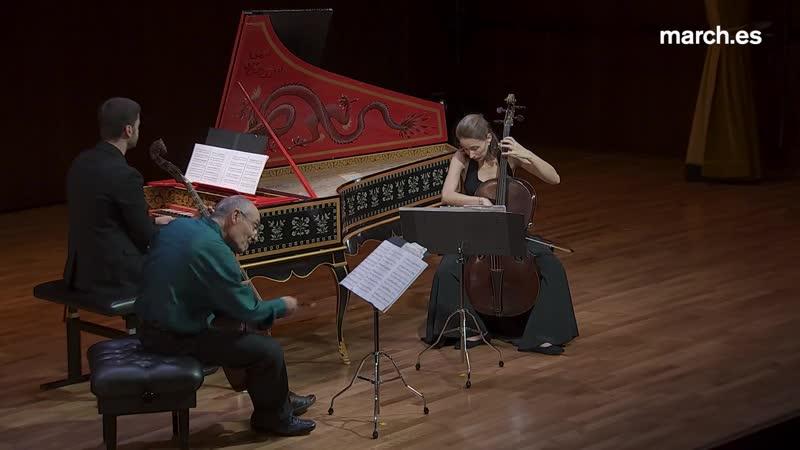 C. P. E. Bach C. F. Abel Sonatas Paolo Pandolfo viola da gamba. Am lie Chemin cello. Andrea Buccarella clave