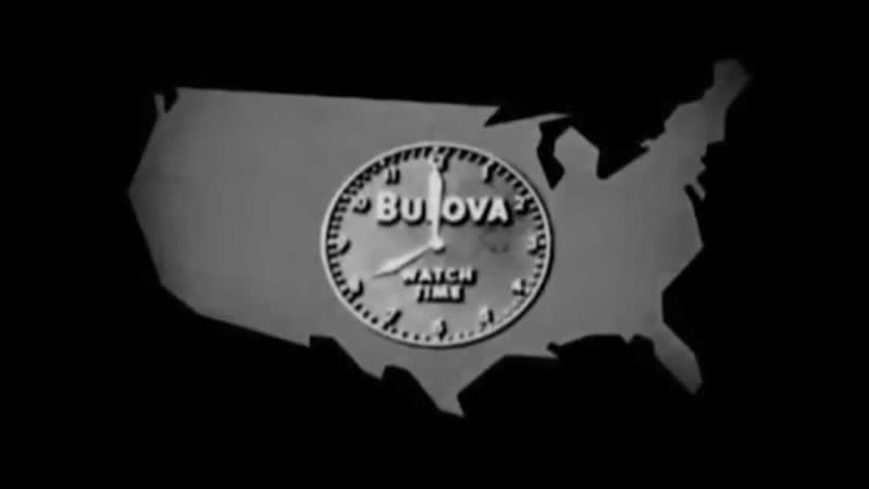 Bulova Watch Company первая ТВ реклама
