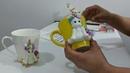 Tutorial *unicornio con moldes de silicon * y porcelana fría