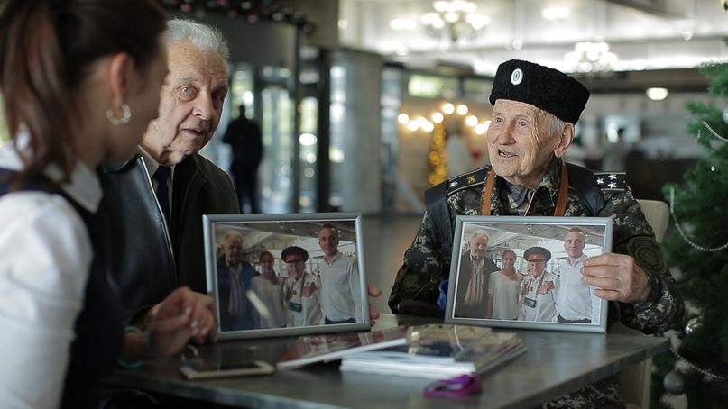 Ветераны Великой Отечественной войны посетили Отель Yalta Intourist, изображение №1