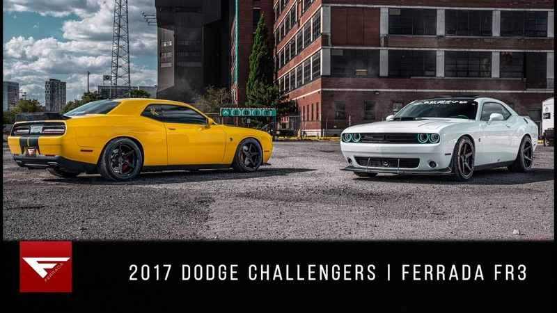 2017 Dodge Challengers Canada's Muscle Ferrada FR3
