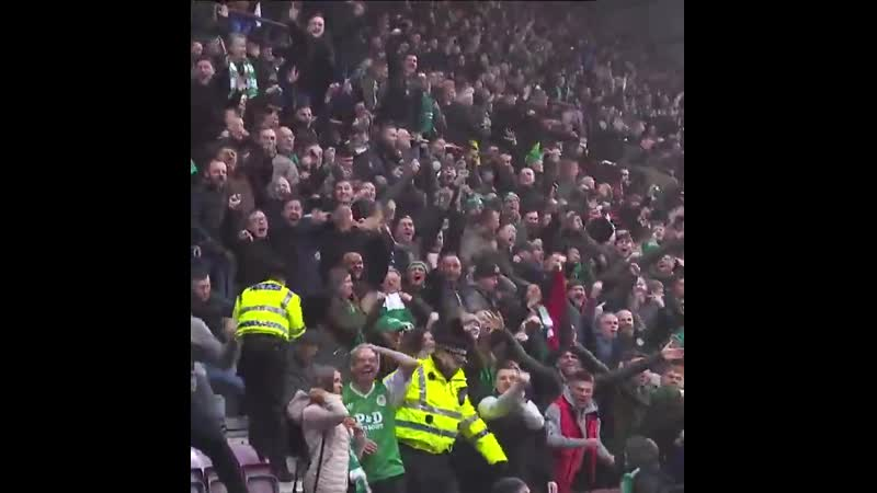 One year ago today Hearts vs Hibs 1 2