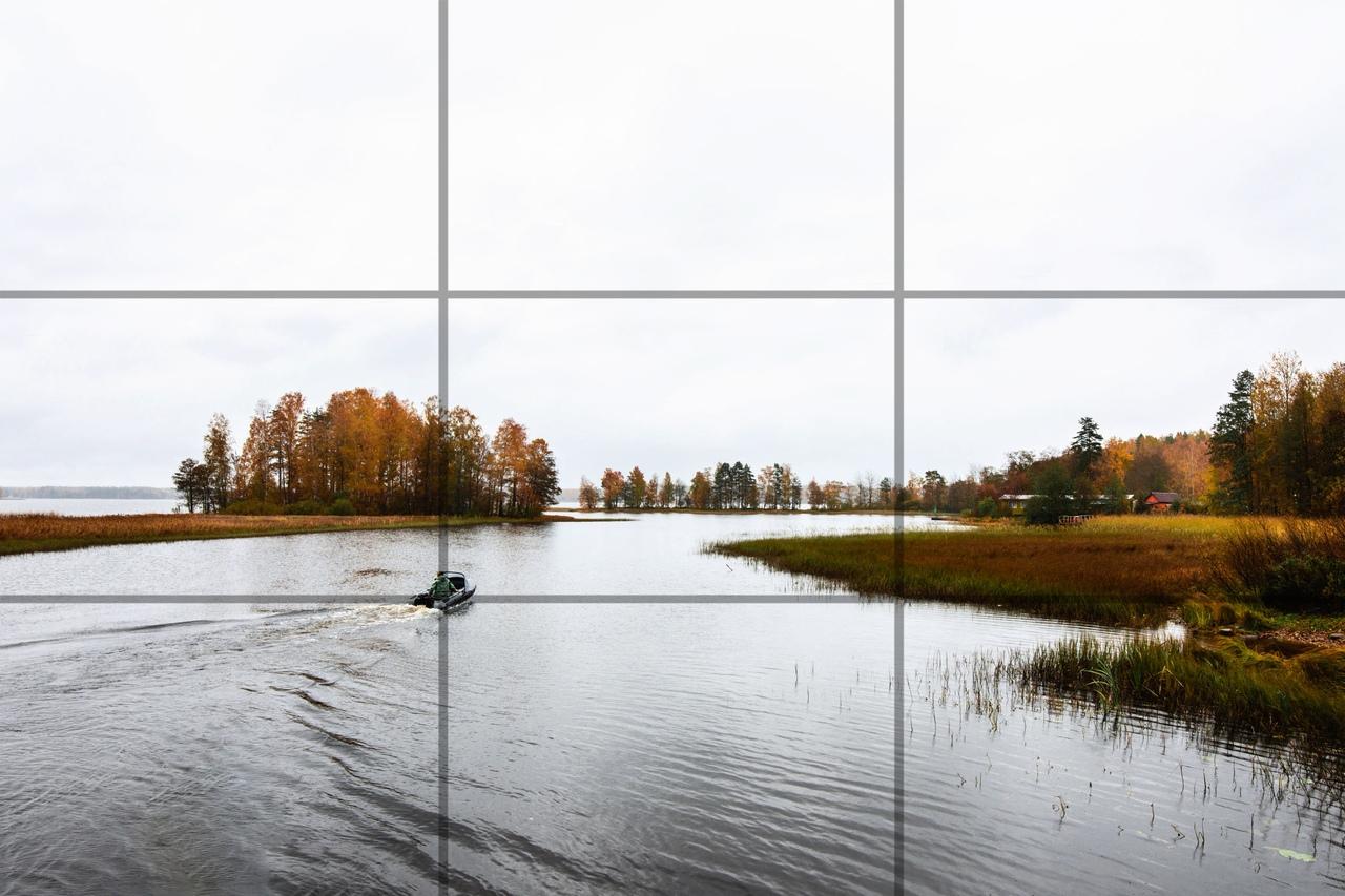 Простые правила композиции фото