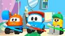 Развивающие мультики для детей про машинки Грузовичок Лева. Песенка с Левой - Чистим зубы