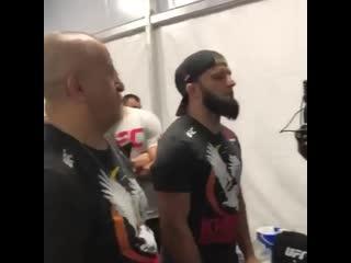 Хабиб перед боем с Порье на UFC 242