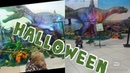 Ксюша и Halloween. Динозавры. Парк юрского периода