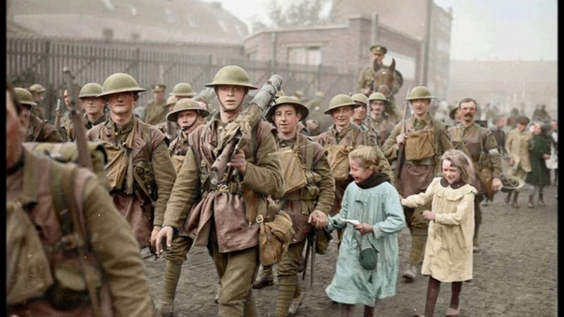 50 Remarkable Colorized Photos of World War 1