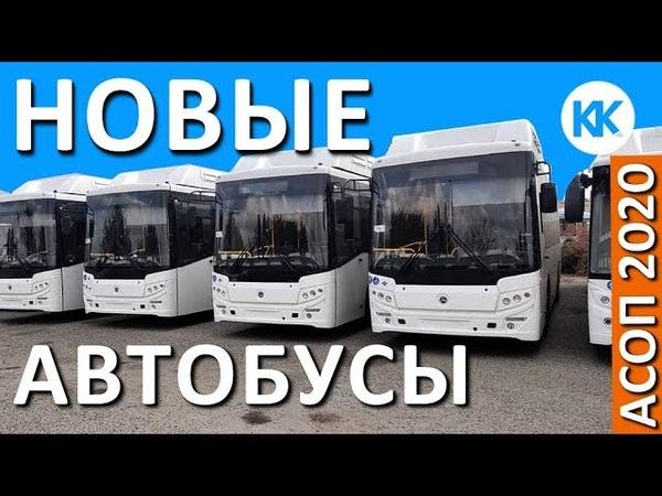 Новые автобусы. Транспорт Крыма. 2020 Автоматизированная система оплаты