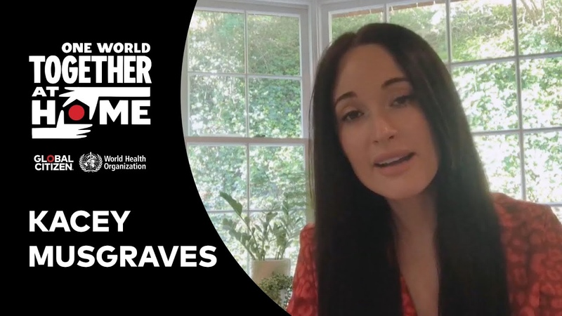Kacey Musgraves performs Rainbow One World Together at Home