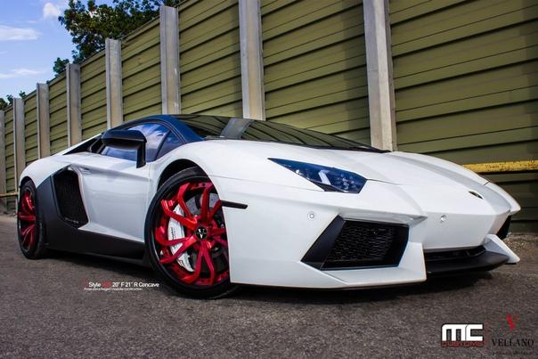 lamborghini aventador white and red - HD2000×1333