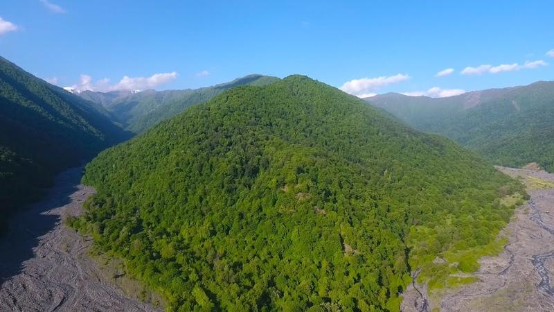 Zaqatala Rayonu Meşleş kəndi drone çəkilişi