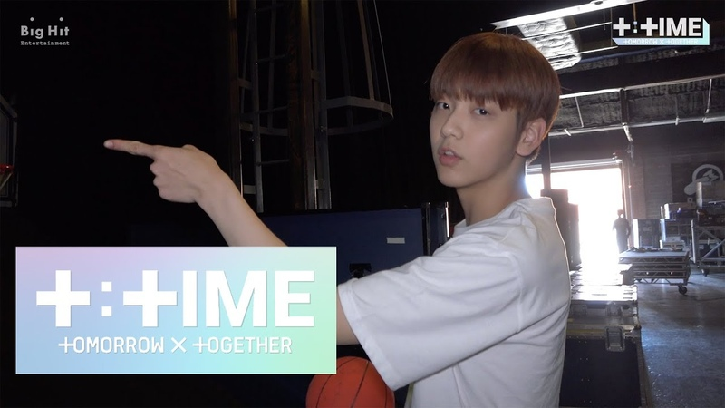 [TTIME] Do you know a basketball genius SOOBIN - TXT (투모로우바이투게더)