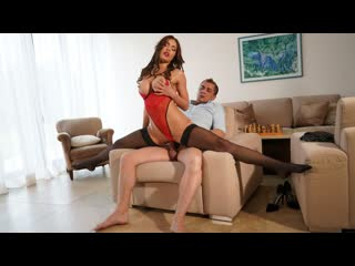 Kitana lure anal for milf in erotic lingerie (anal, milf, big tits, blowjob, brunette, harscore, lengirie)