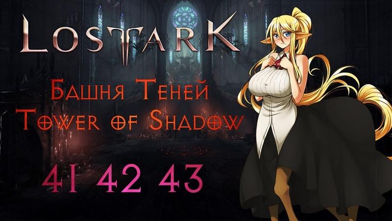 LOST ARK | Башня Теней | Tower of Shadow | 41 42 43 этаж floor | Страж Warlord |