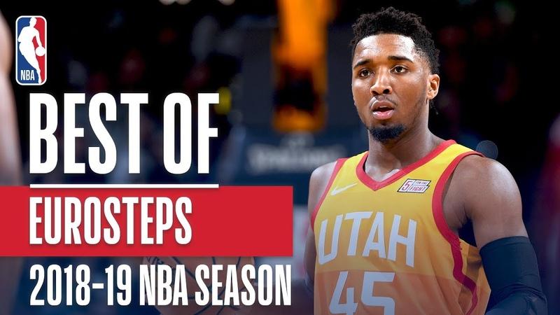 NBA's Best Euro-Steps | 2018-19 NBA Season | NBAHandlesWeek NBANews NBA
