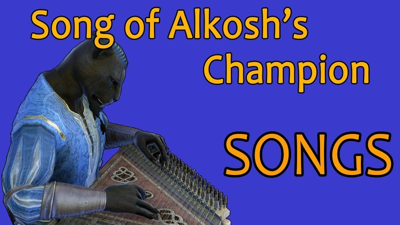 ESO Songs Song of Alkosh's Champion Male Version