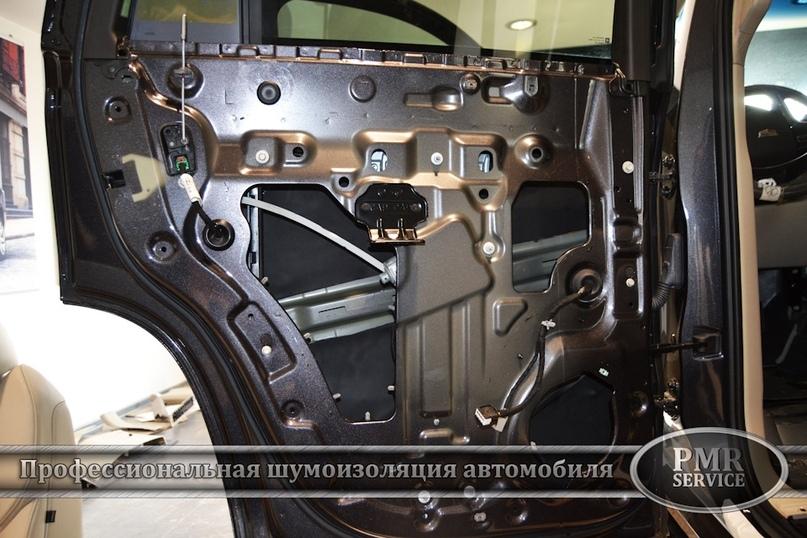 Шумоизоляция Cadillac Escalade ESV, изображение №14