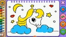 Раскраска Май Литл Пони Мультик. Учим цвета