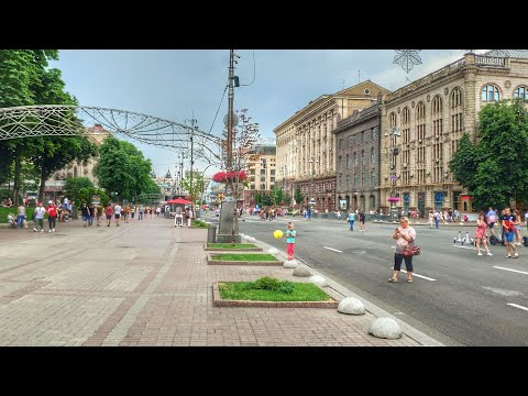 Київ ▶ Хрещатик, Майдан Незалежності ▶ Пряма трансляція 9 червня 2019 р.
