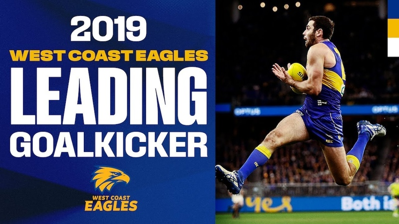 Every goal from Jack Darling in 2019 | Leading Goalkickers | AFL