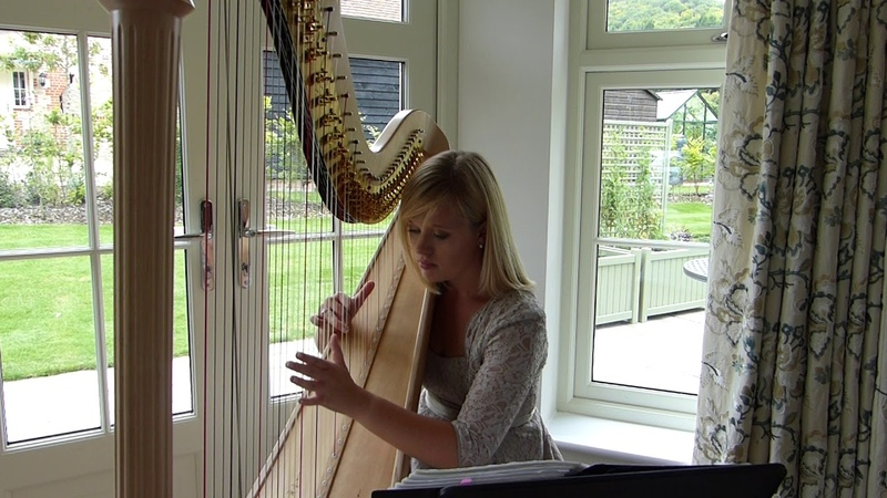 Air on a G String by J S Bach performed by Nicola Veal Harpist