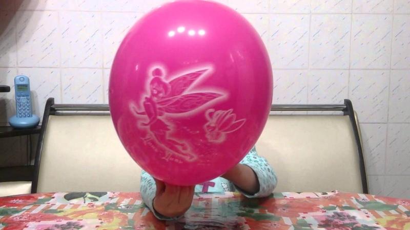 Как надуть воздушный шарик. Фокус-покус.