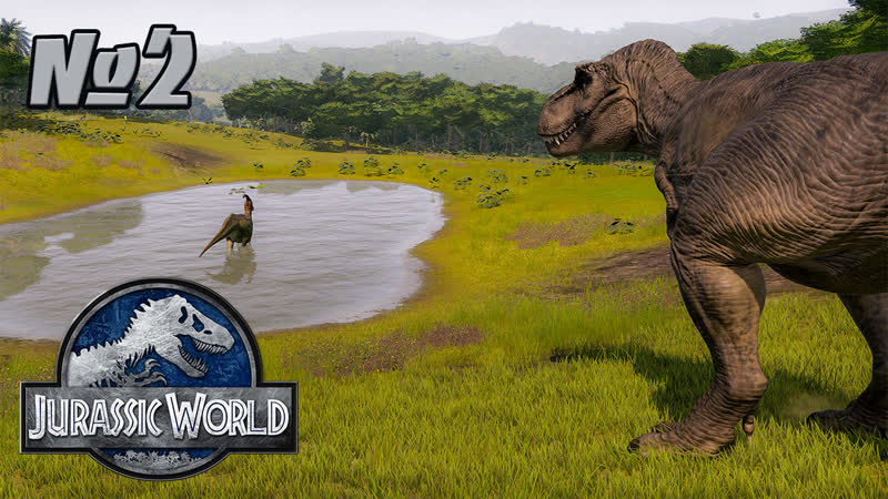 Live Bludnik Stream GAMES Jurassic World Evolution Совылупляем динозавриков XD 2