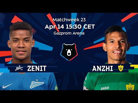 Zenit vs Anzhi Matchweek 23 Russian Premier Liga