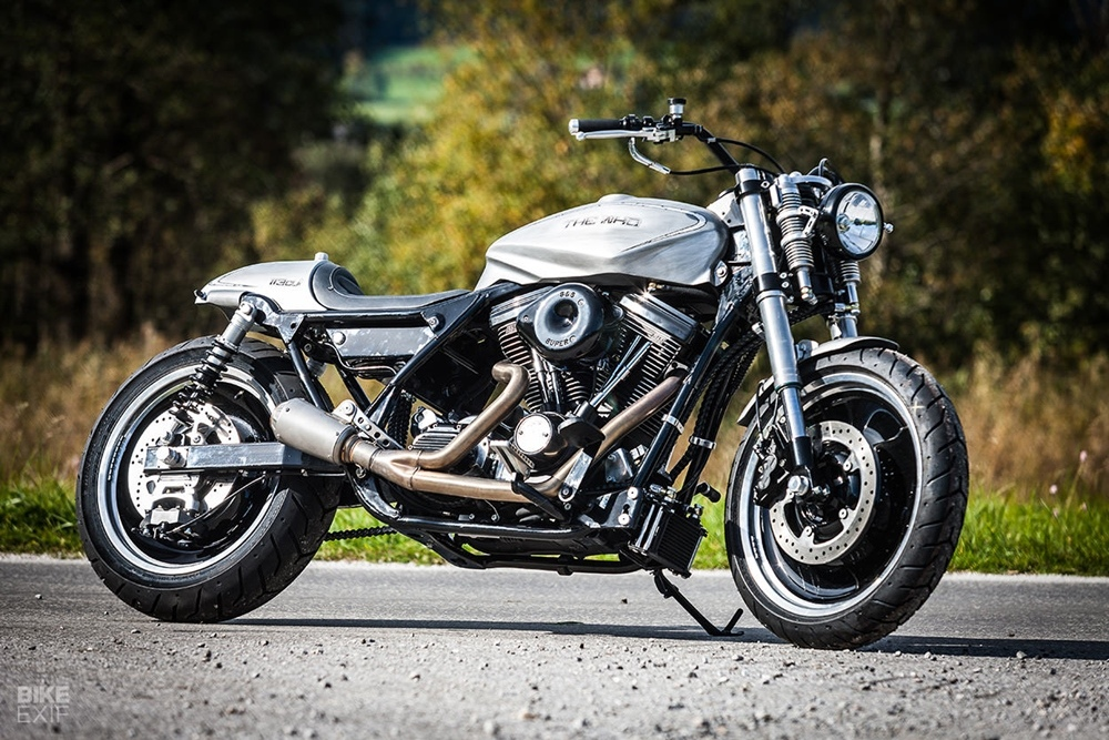 Mayerl Motorcycles: кастом Harley-Davidson Electro Glide