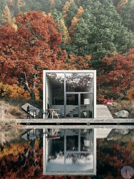 Необычный дизайн домов