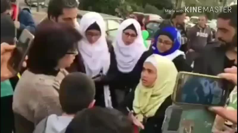 Девочка из Джама'ата Шейха 'Абдуллаhа Аль haрарий рассказывает про 13 из Сыфатов Аллаhа