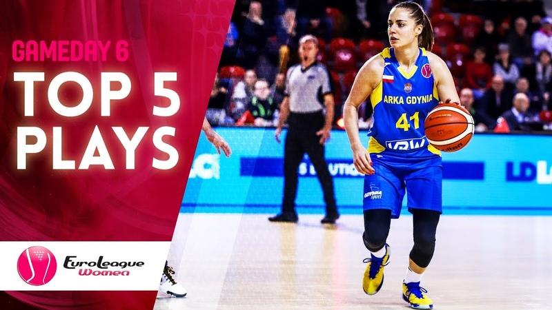 Top 5 Plays | Game Day 6 | EuroLeague Women 2019-20